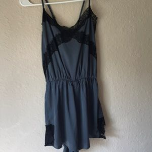 Lf romper with lace details NWOT